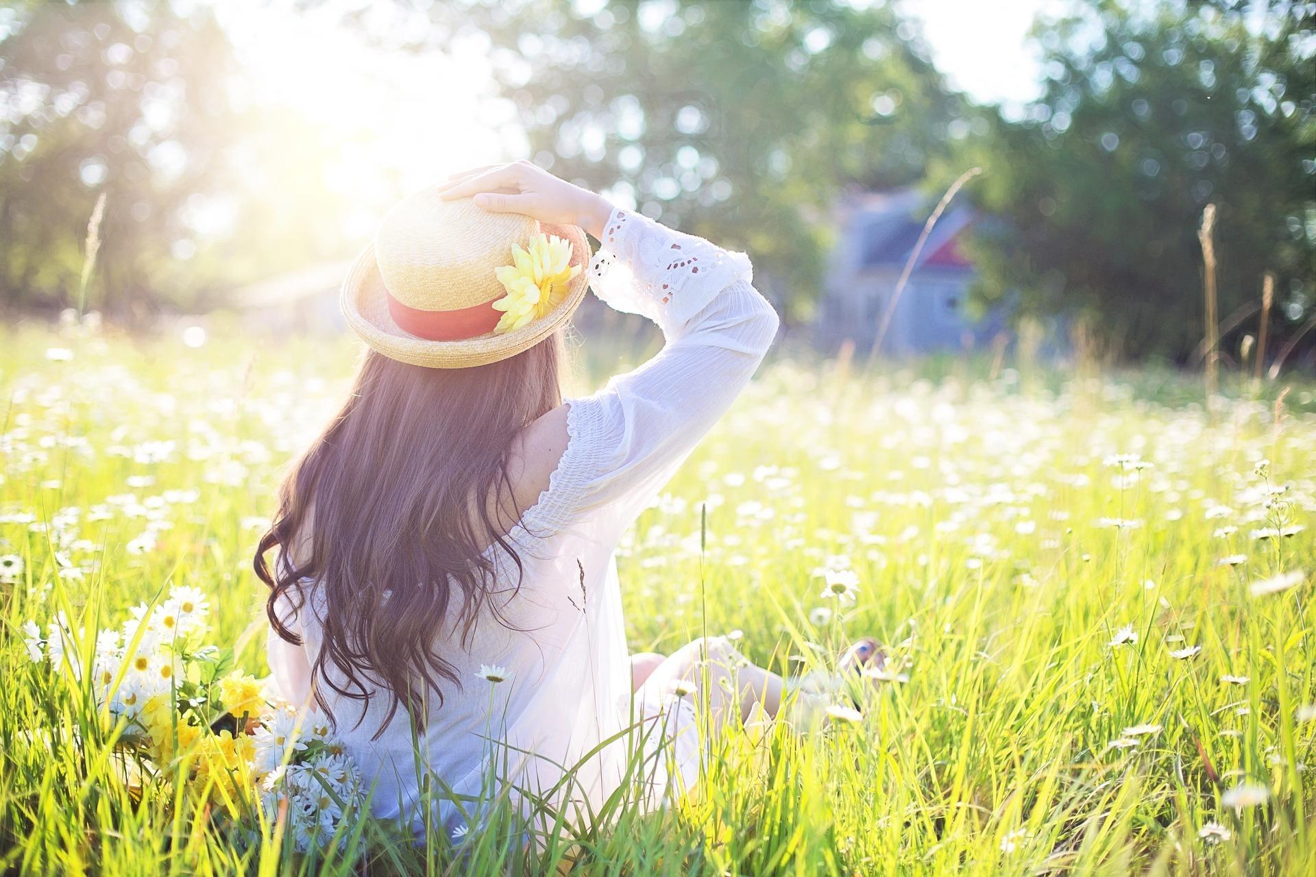 Blumenwiese zum Relaxen - Einrichtung für psychisch erkrankte Menschen